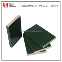 reused 30 - 150 times premium concrete forming PP plastic coated plywood for construction