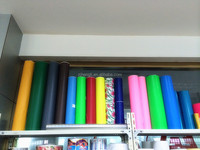 Colored Self Adhesive PVC Film