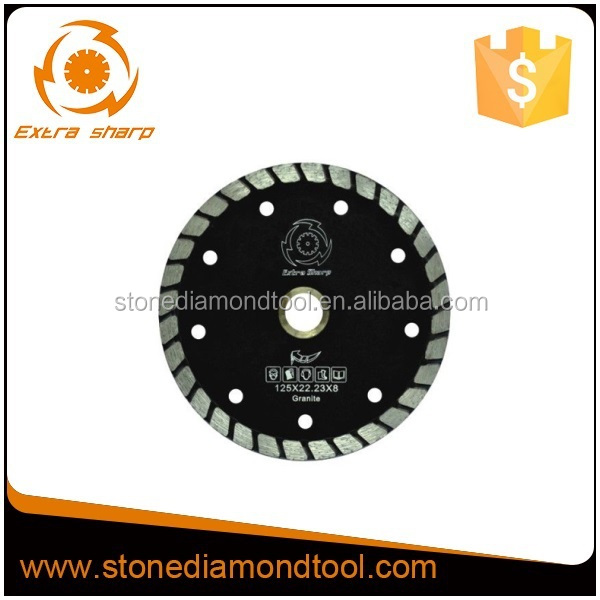 Sintered diamond small turble saw <strong>blade</strong> for cutting stone