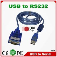 Low Cost FTDI Chip USB 2.0 to Serial RS232 Converter Cable driver usb rs232 win7