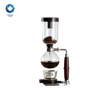 Gold supplier home use new style 3 cups coffee siphon coffee maker