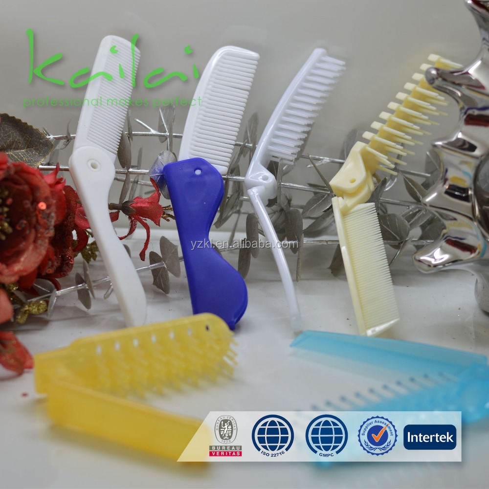 Good Hair Comb and Hair Brush/colourful hotel or travel plastic cheap hair comb/combs wholesale with fast delivery