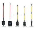 shovel,spade ,fork with firberglass handle plastic grip