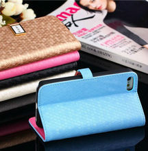 High quality PU for iphone5c leather case