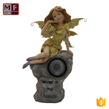 Custom Resin Angel Fingurine Decoration Craft for Sale