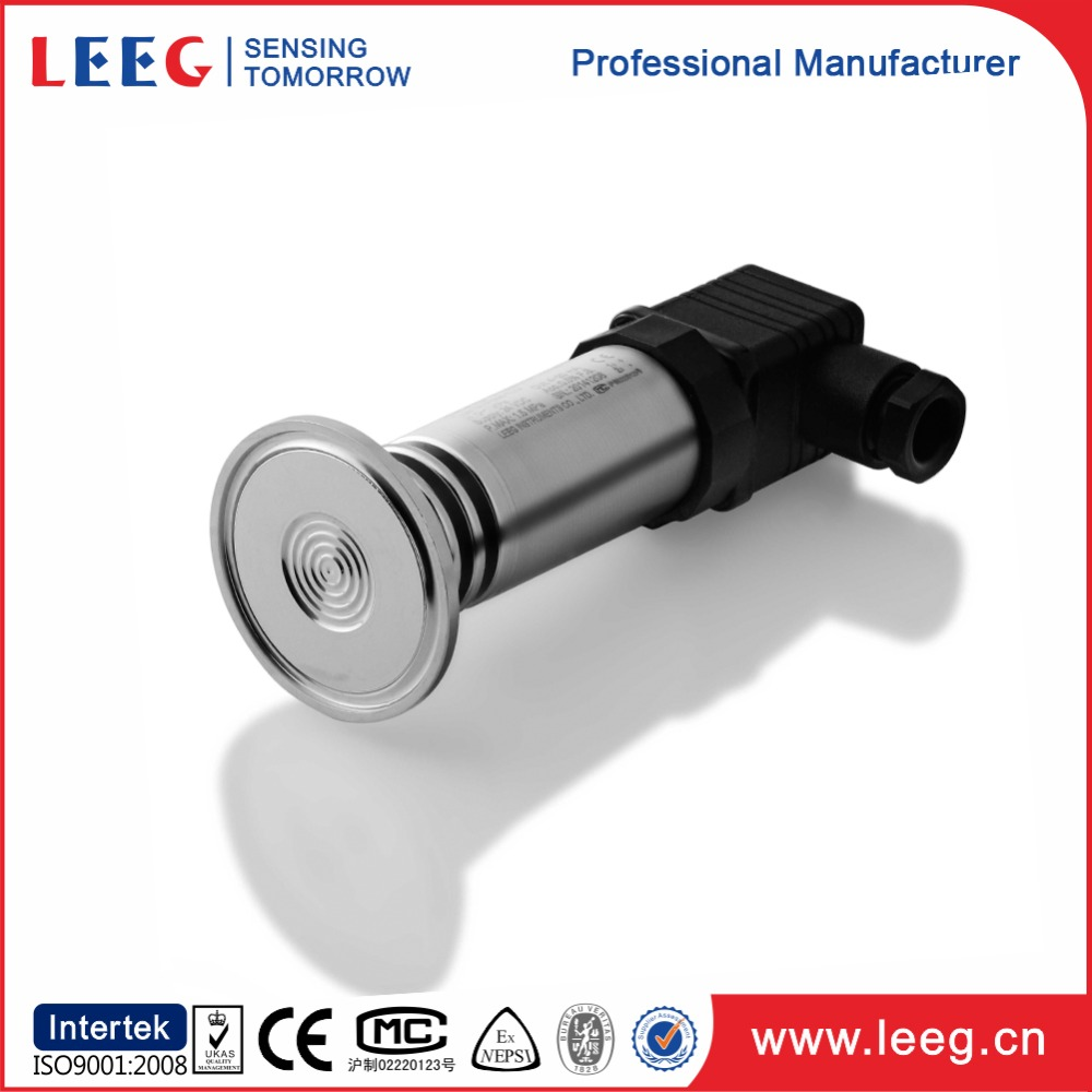 clamp type sanitary 0-5v pressure transmitter for foodstuff