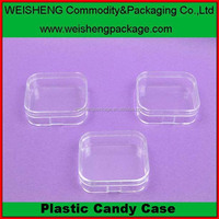 food Industry use pp candy clear storage packaging container