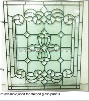 man made stained glass panel for room divider with with IGCC certificate ASTM E2190 and (GCIA)