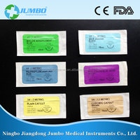 Wholesale China quality medical supplies disposable medical surgical suture needles thread