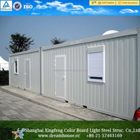 Prefabricated shipping container house/cheap modular container office/oversea container office for sale