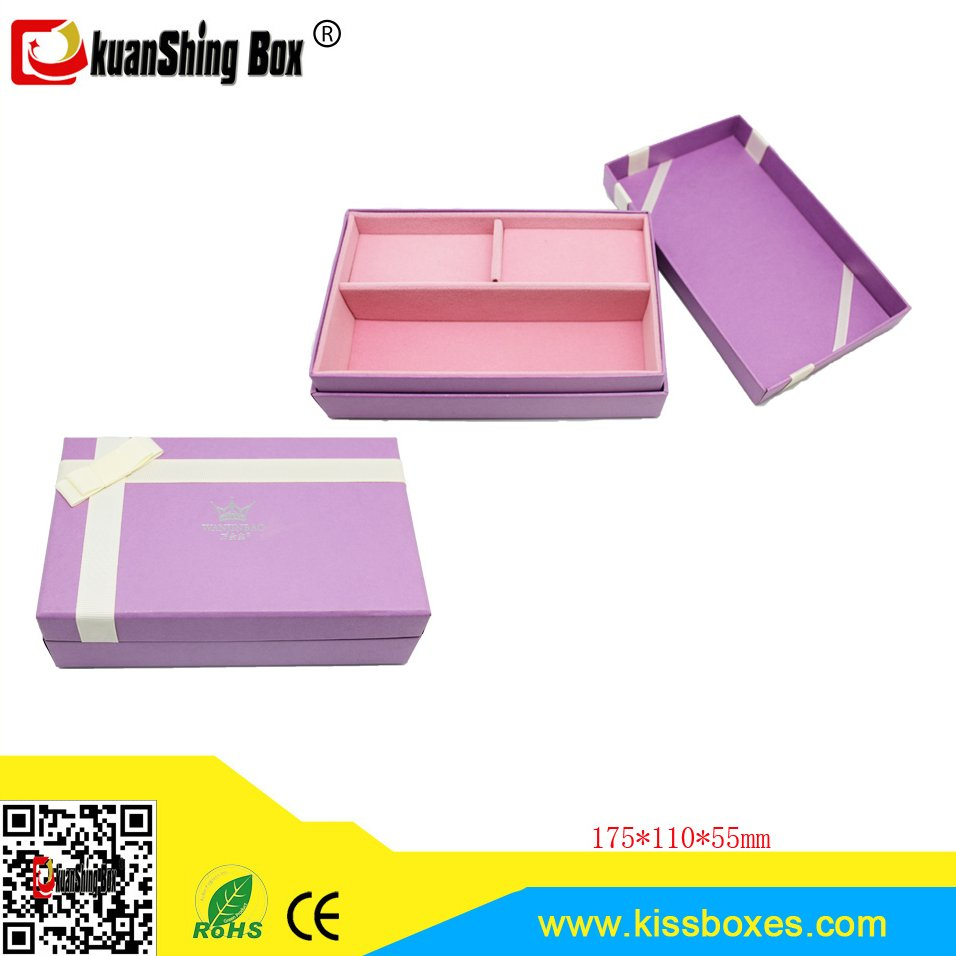custom design low price cardboard jewelry box watch & jewelry box paper jewelry box with ribbon