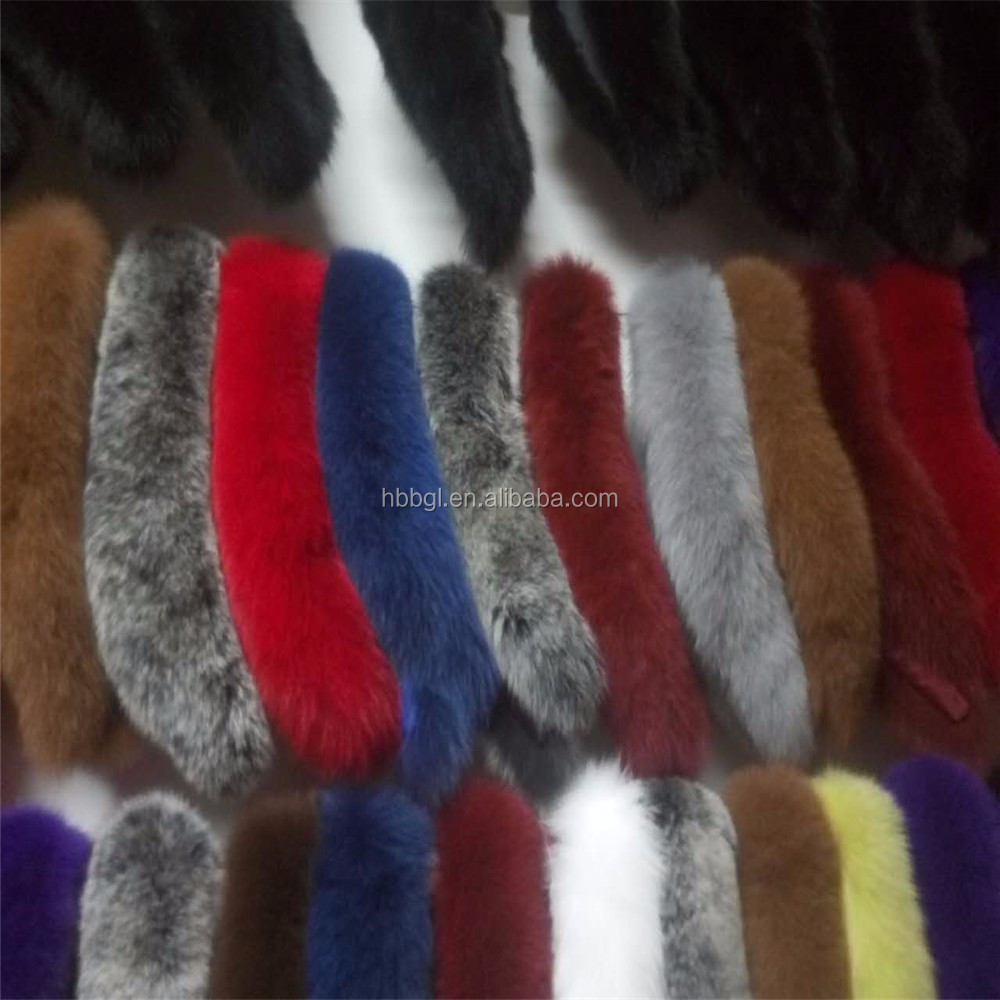 wholesale hot fashion color fake fox fur tail key chain/fox fur tail pom pom