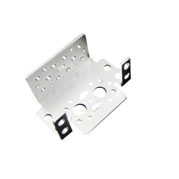 Aluminum Multi-Purpose Motor Servo Bracket Kit Silver