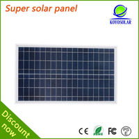 cheap small 15 watt poly panel solar