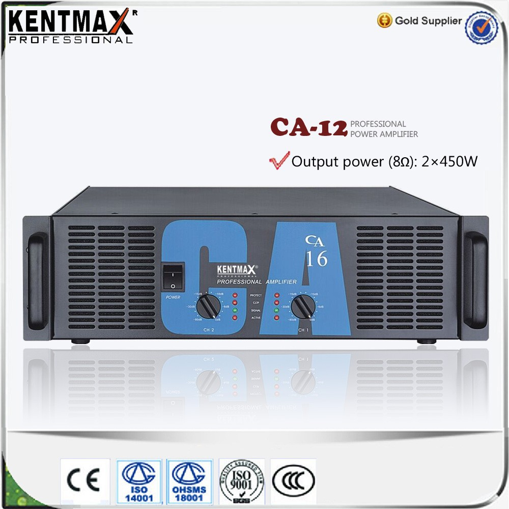 CA series professional big power amplifier made in China