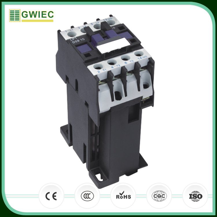 GWIEC Best Trading Products LP1-D Series DC Operated 9A AC Contactor 380V
