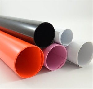 0.07mm-1mm Thickness eco-friendly colorful recycled PVC sheet/ rolls