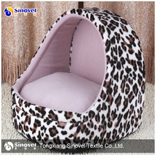 100% Polyester Animal Printed Velvet Fabric for dog bed