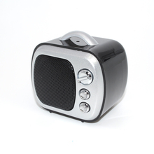 U14B Retro TV Style Bluetooth Speaker Mini Wireless Loudspeakers Support TF Card AUX Portable Stereo Speaker For Phone Tablet