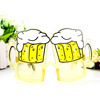 Wholesales special creative sunglasses bottle opener beer shape