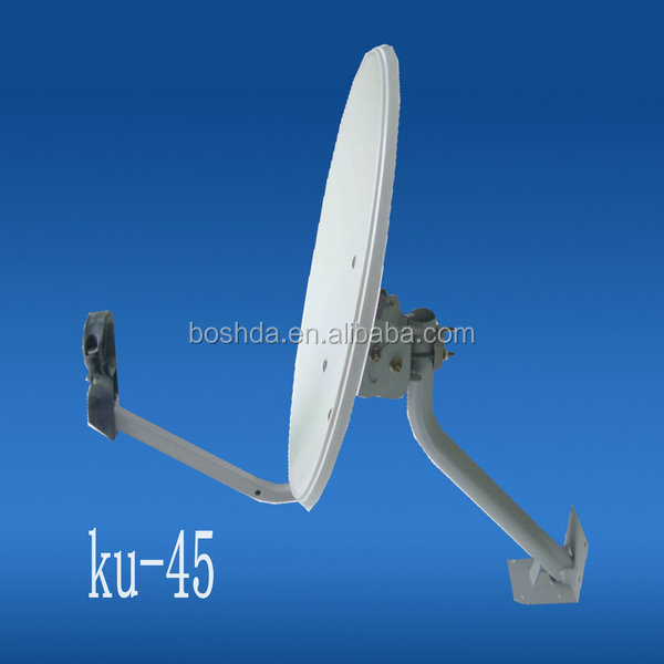ku-45cm satellite dish bracket/satellite equipment/wifi antenna/receiver