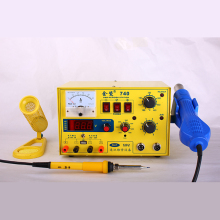 JCD 740 2A LED with 5V USB power supply soldering iron hot air Blower 3in1 soldering rework station