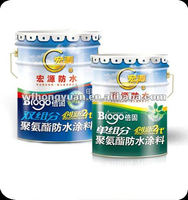 Single Component Polyurethane Waterproof Coating for tiles, roof