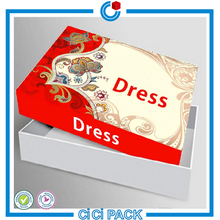 China wholesale box carton packaging for garment