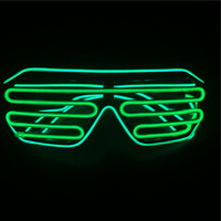 sound activated Light up Neon led glasses