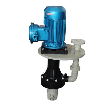 Efficient, Reliable and Sustainable nitric Acid resistance vertical plastic chemical pump