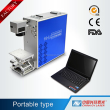 rubber stamp making machine, competitive price laser marking machine 50w 100w