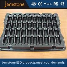 PET Anti-Static ESD packaging blister plastic PCB tray