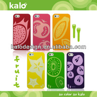 Silicone Fruit case for iPhone 5S case, mobile phone accessory