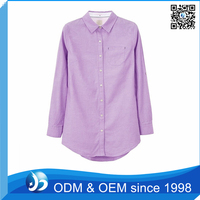 Custom 100% Polyester Ladies Top Shirt for Fat Women