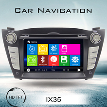 High quality 7'' screen size car radio for Hyundai Tucson IX35 2016 car audio gps navigation with car stereo Canbus