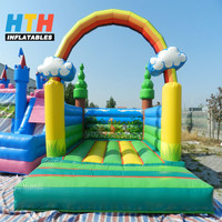 2017 new design inflatable bouncer jumping castle