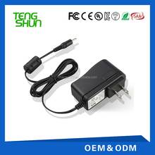 12V 1A switching power adapter for routers