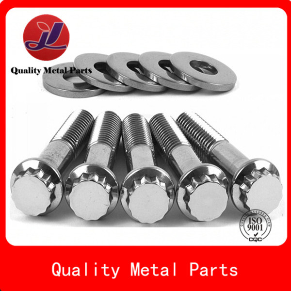 znic plated pin bolt threaded customized fastener stud