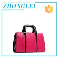 Summer Fashion Customized Oem Handle Name Brand Purses And Ladies Handbags