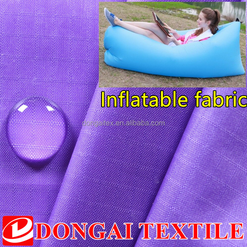 20D 40D 70D waterproof Inflatable ripstop nylon fabric