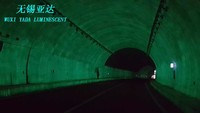 luminescent paint / glow in dark water base paint use for tunnel