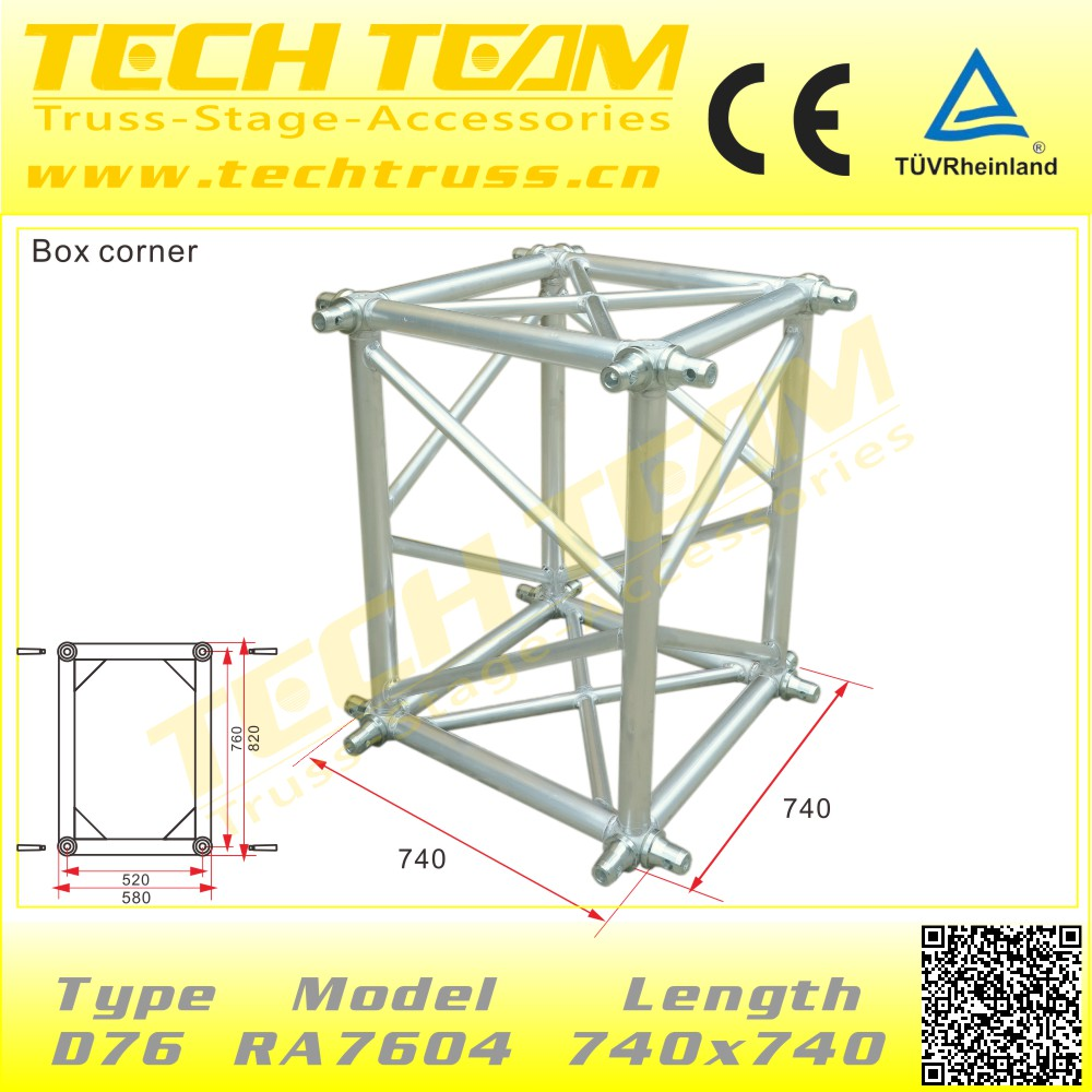 Smart Rectangle China Aluminum Lighting Truss