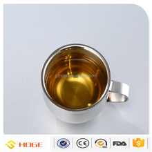 Most Popular Customized Logo Printing 6oz Double Wall Stainless Steel Cups For Espresso Coffee