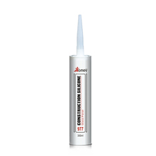 Homey 977 waterproofing non corrosion auto glass silicone sealant