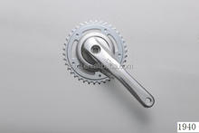 A38-2 38T steel chainring and 170mm alooy crank for single speed bicycle
