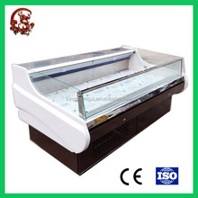 Large capacity refrigerated produce display cooler for sale