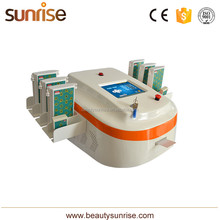 Beijing sunrise Lipo Laser Slimming 650nm and 940nm Double Wavelength laser fat burning machine