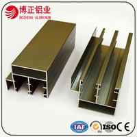 Good manufacturer weight of aluminum section with different surface treatments