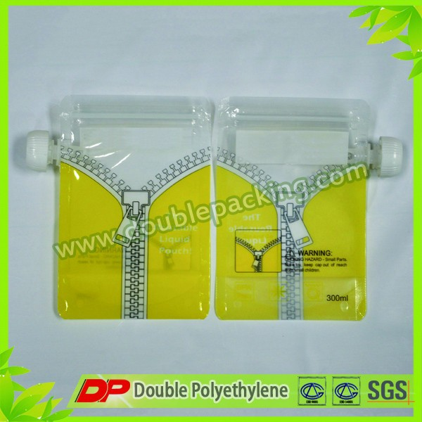 Spout pouch packaging bag