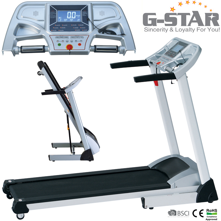 GS-142C Indoor mini easy installment electric treadmill equipment for sale